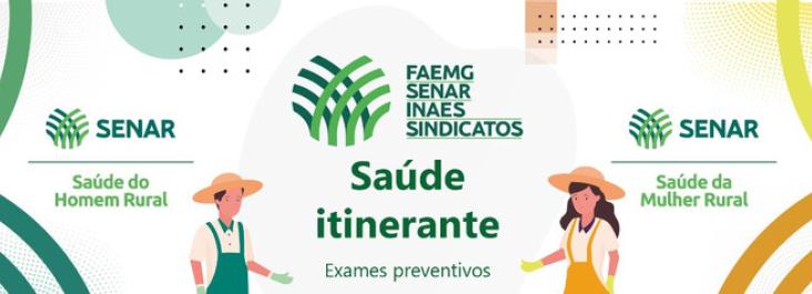 Programa Saúde Itinerante: Exames preventivos para produtores